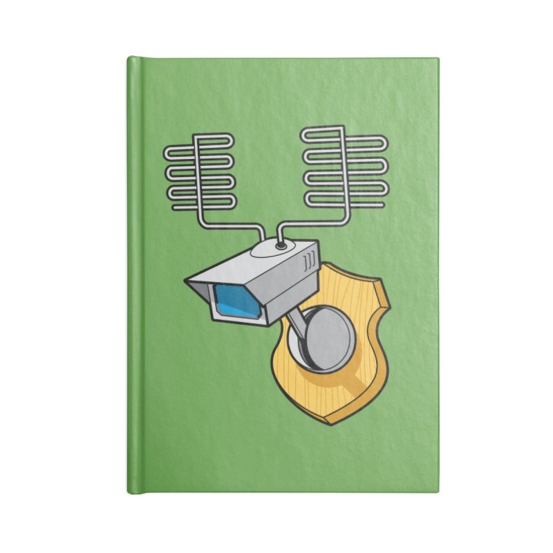 Inconspicuous Accessories Notebook by Glennz
