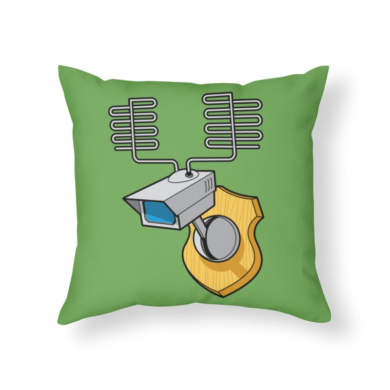 Inconspicuous Home Throw Pillow by Glennz