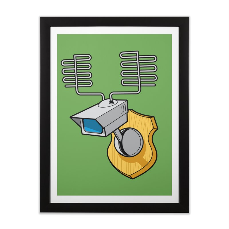 Inconspicuous Home Framed Fine Art Print by Glennz