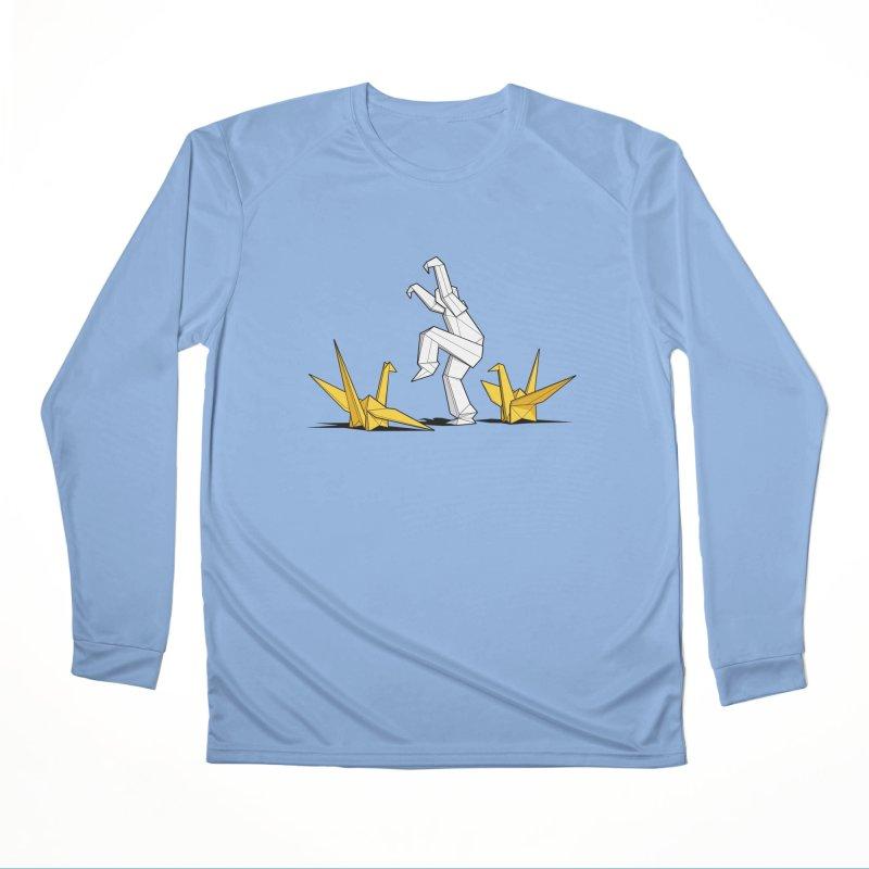 Paper Cranes Women's Longsleeve T-Shirt by Glennz