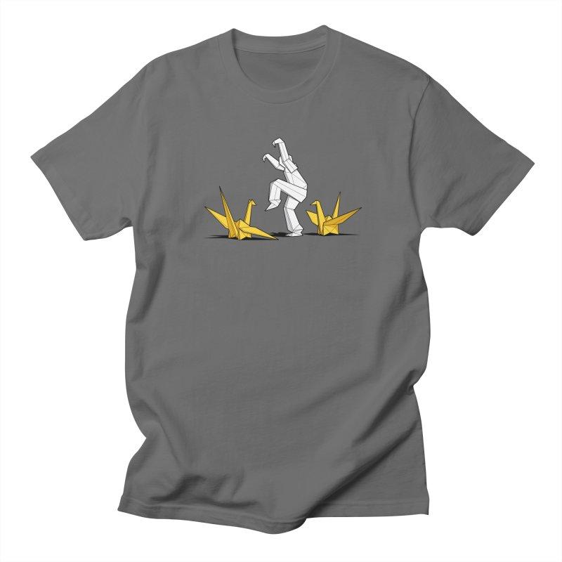 Paper Cranes Men's T-Shirt by Glennz