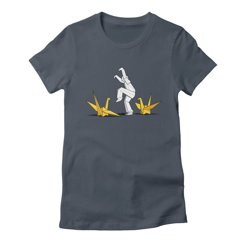 Paper Cranes Women's T-Shirt by Glennz