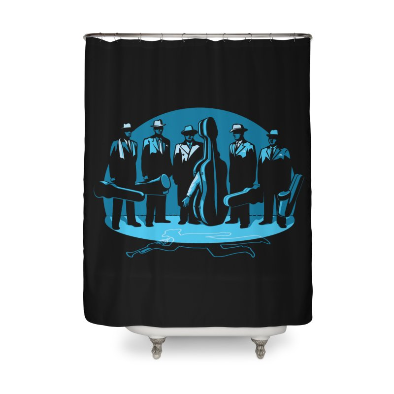Mpb Musicians Home Shower Curtain by Glennz
