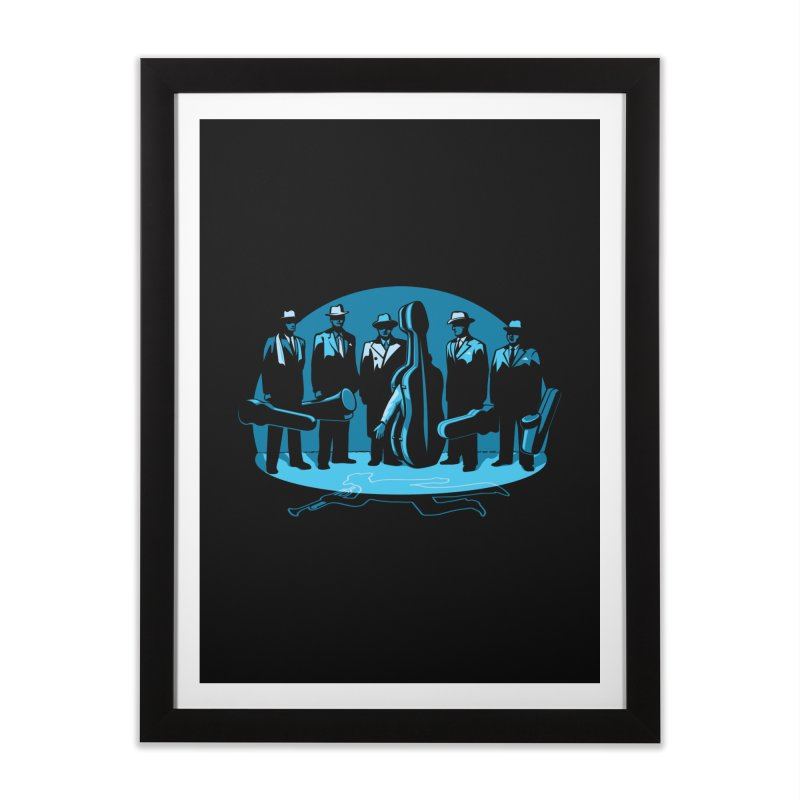 Mpb Musicians Home Framed Fine Art Print by Glennz