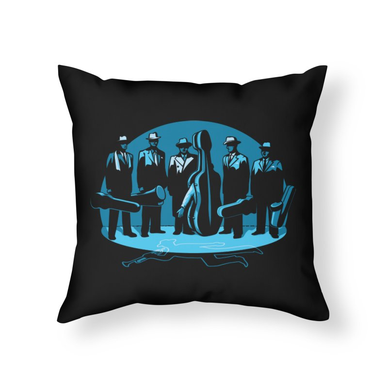 Mpb Musicians Home Throw Pillow by Glennz
