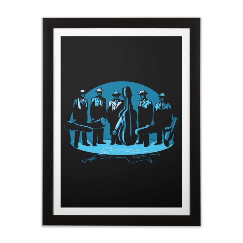 Mpb Musicians Home Framed Fine Art Print by Glennz