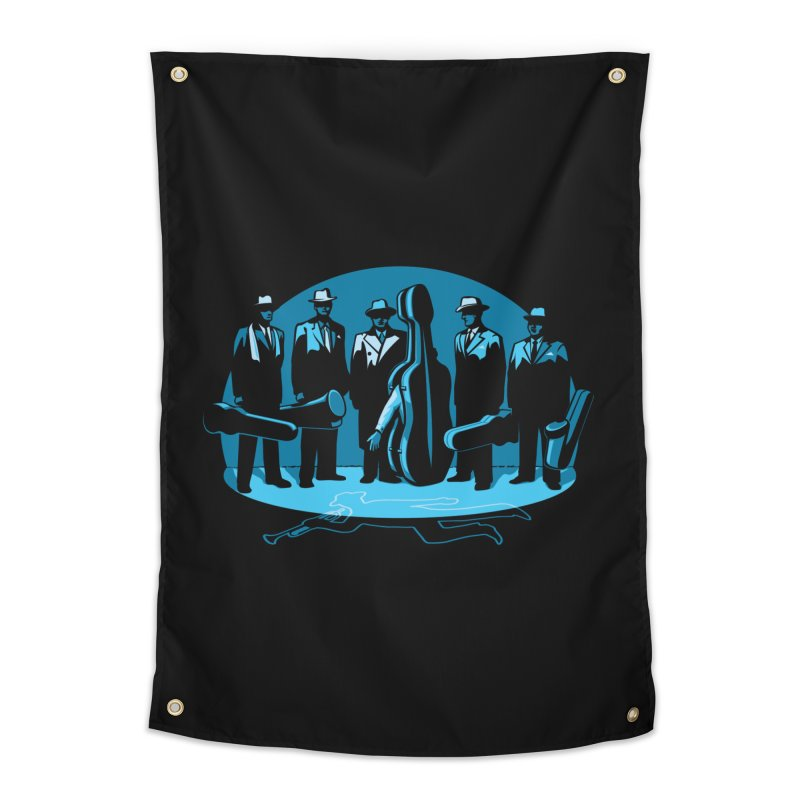 Mpb Musicians Home Tapestry by Glennz