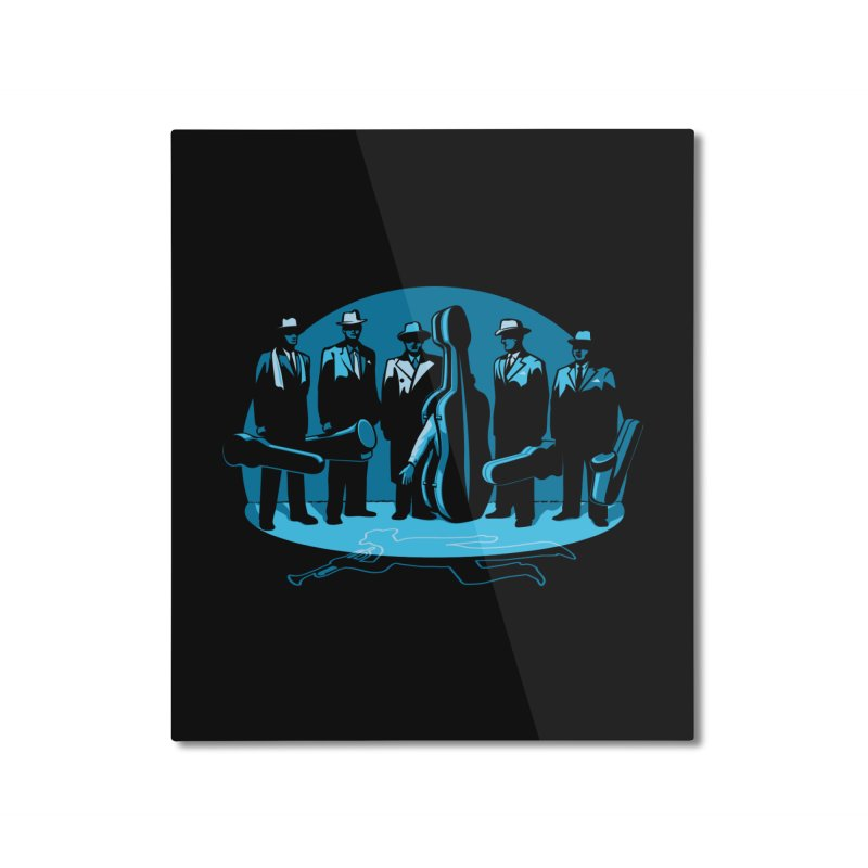 Mpb Musicians Home Mounted Aluminum Print by Glennz