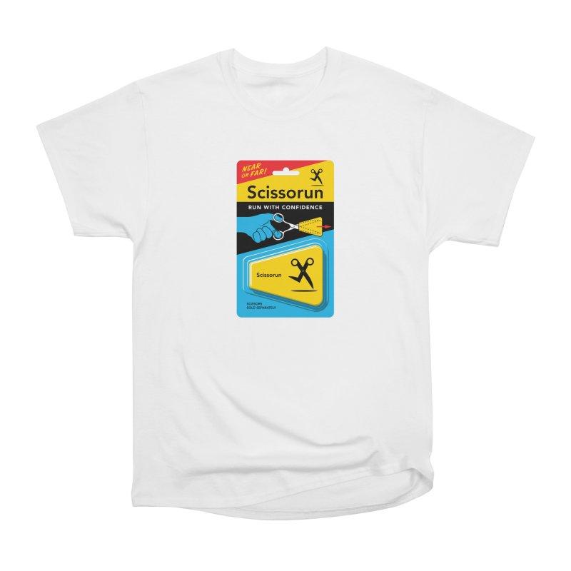Scissorun Women's T-Shirt by Glennz