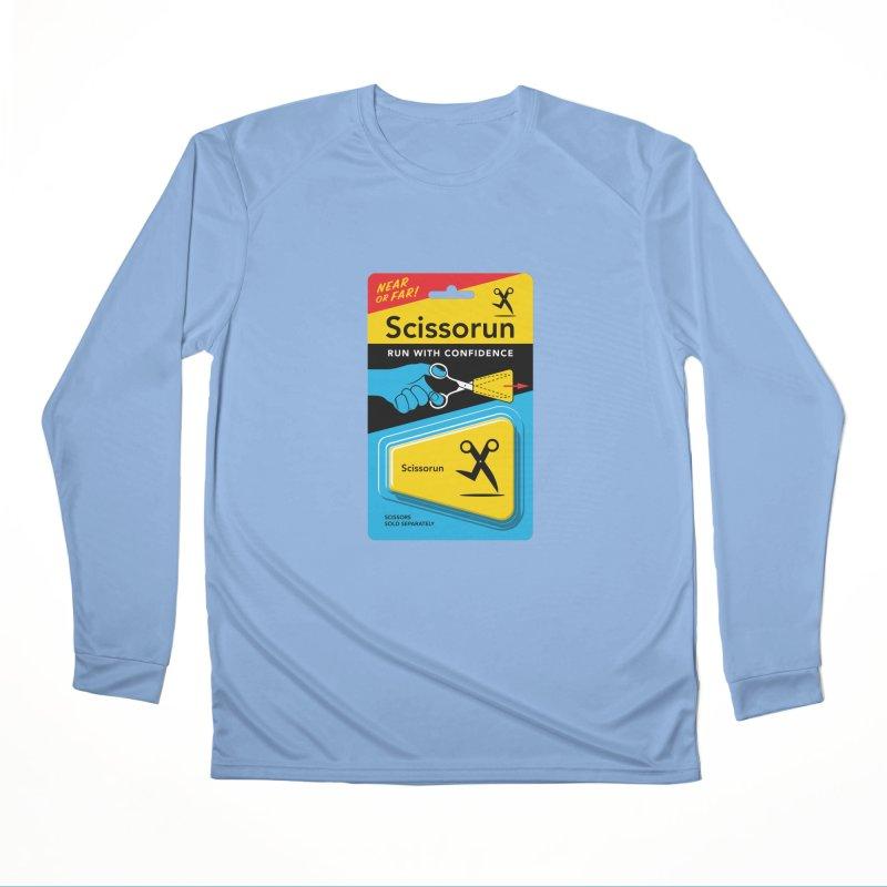 Scissorun Women's Longsleeve T-Shirt by Glennz