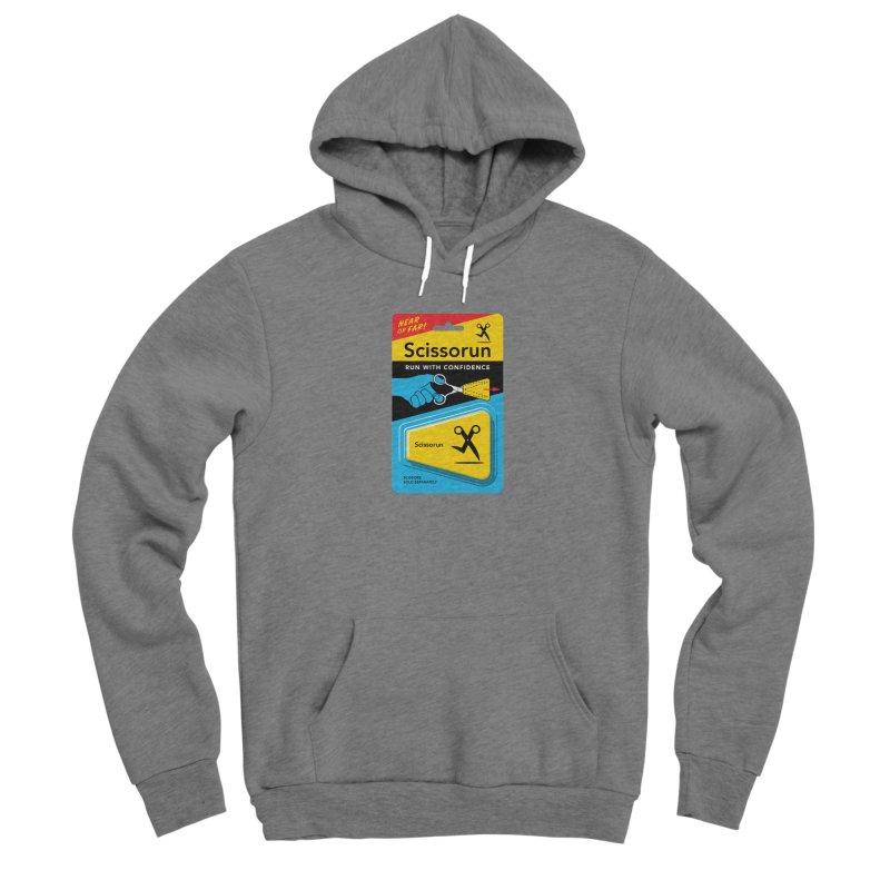 Scissorun Men's Pullover Hoody by Glennz