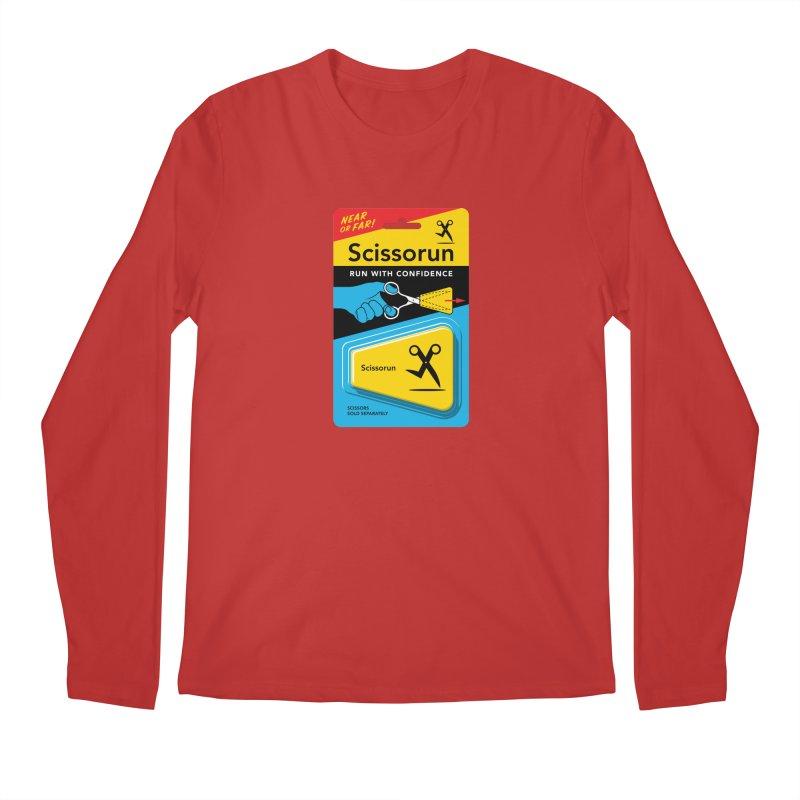 Scissorun Men's Longsleeve T-Shirt by Glennz