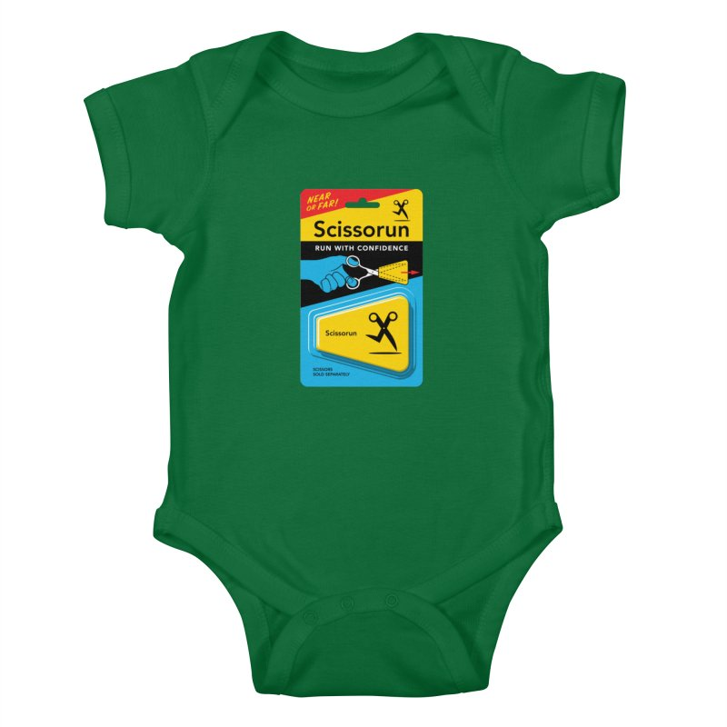 Scissorun Kids Baby Bodysuit by Glennz