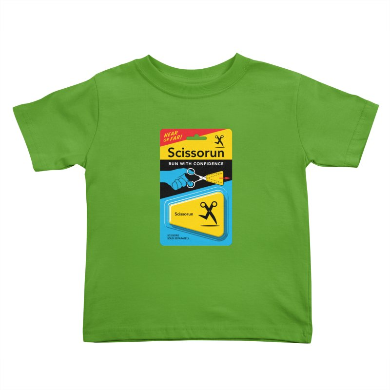 Scissorun Kids Toddler T-Shirt by Glennz
