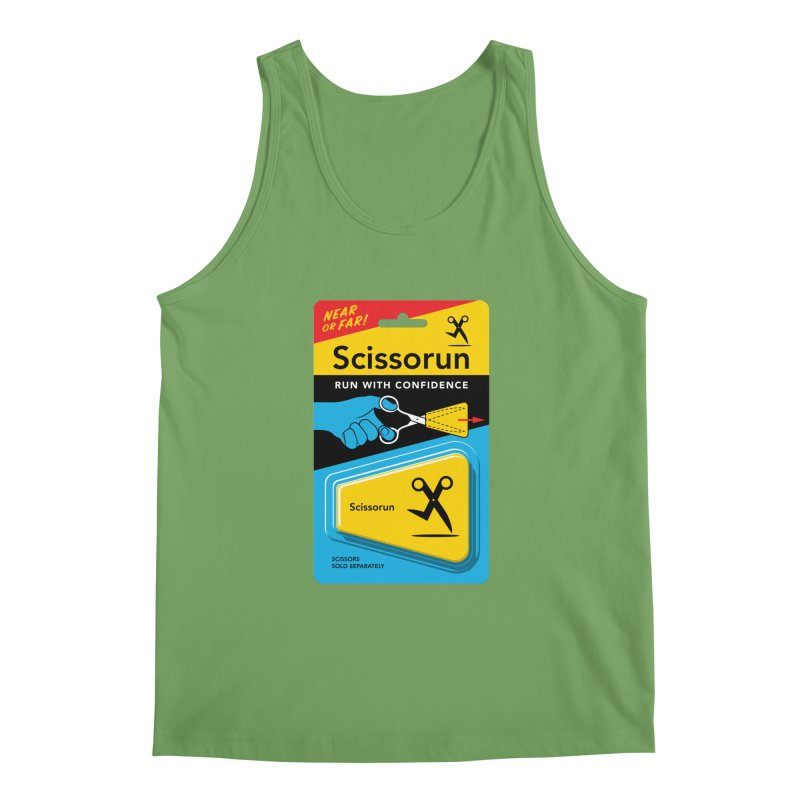 Scissorun Men's Tank by Glennz