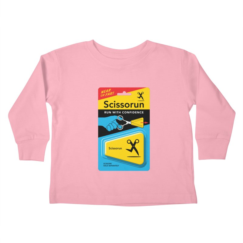 Scissorun Kids Toddler Longsleeve T-Shirt by Glennz