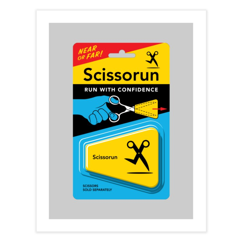 Scissorun Home Fine Art Print by Glennz