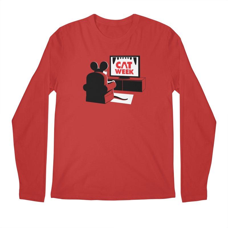 Terrifying Men's Longsleeve T-Shirt by Glennz