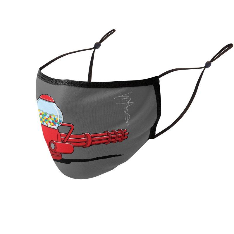 Gumball Machine Gun Accessories Face Mask by Glennz