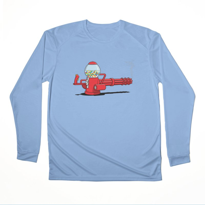 Gumball Machine Gun Men's Longsleeve T-Shirt by Glennz