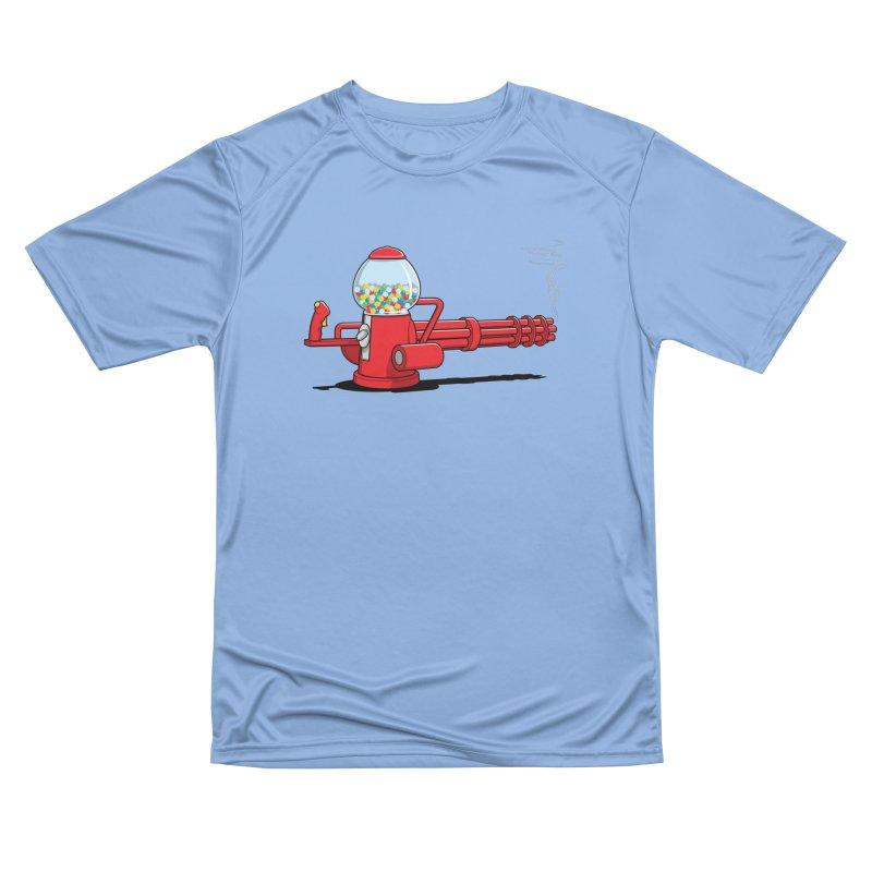 Gumball Machine Gun Men's T-Shirt by Glennz