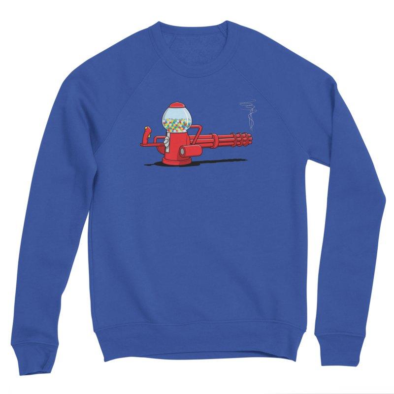 Gumball Machine Gun Men's Sweatshirt by Glennz