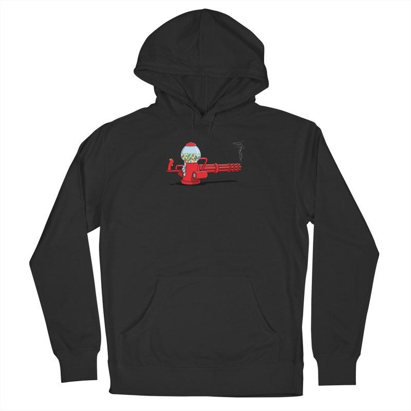 Gumball Machine Gun Men's Pullover Hoody by Glennz
