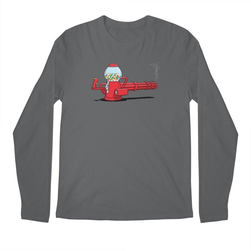 Gumball Machine Gun Men's Longsleeve T-Shirt by Glennz