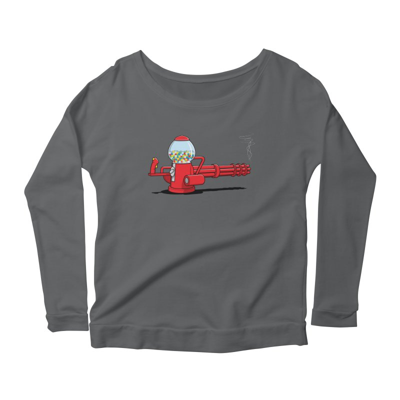 Gumball Machine Gun Women's Longsleeve T-Shirt by Glennz
