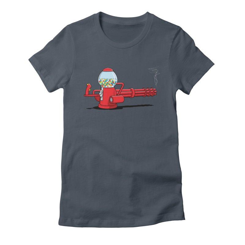 Gumball Machine Gun Women's T-Shirt by Glennz