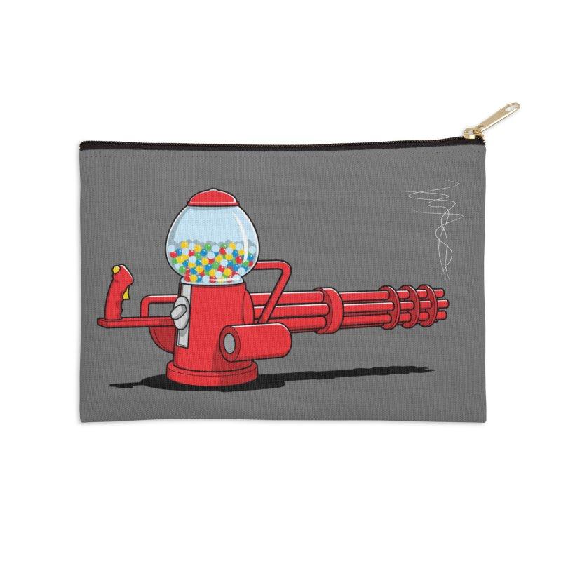 Gumball Machine Gun Accessories Zip Pouch by Glennz