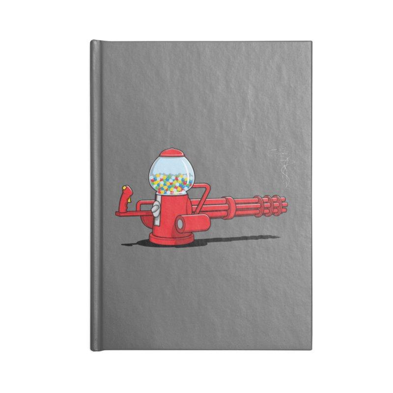 Gumball Machine Gun Accessories Notebook by Glennz