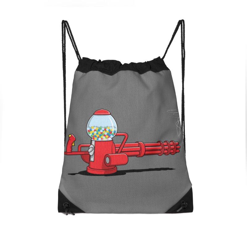 Gumball Machine Gun Accessories Bag by Glennz