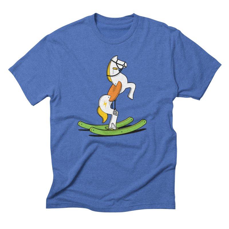 Wild Rocking Horse Men's T-Shirt by Glennz
