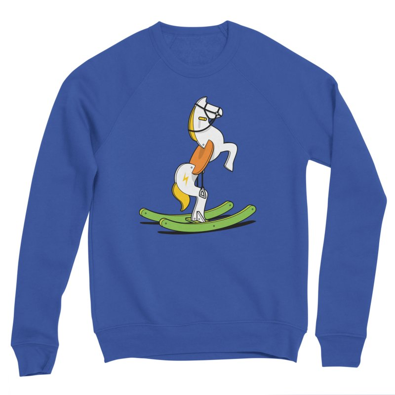 Wild Rocking Horse Men's Sweatshirt by Glennz