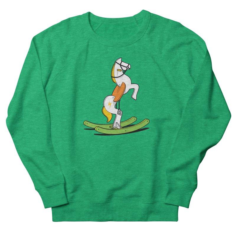 Wild Rocking Horse Women's Sweatshirt by Glennz
