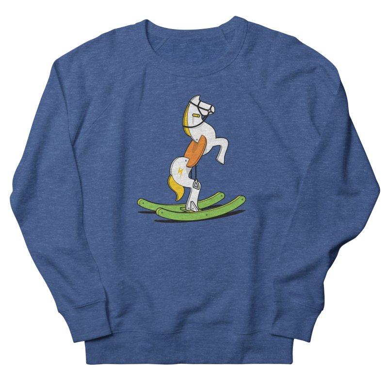 Wild Rocking Horse Men's Sweatshirt by Glennz