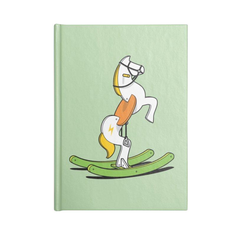 Wild Rocking Horse Accessories Notebook by Glennz