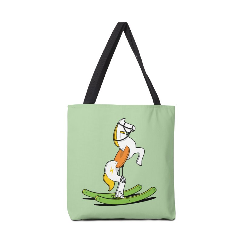 Wild Rocking Horse Accessories Bag by Glennz