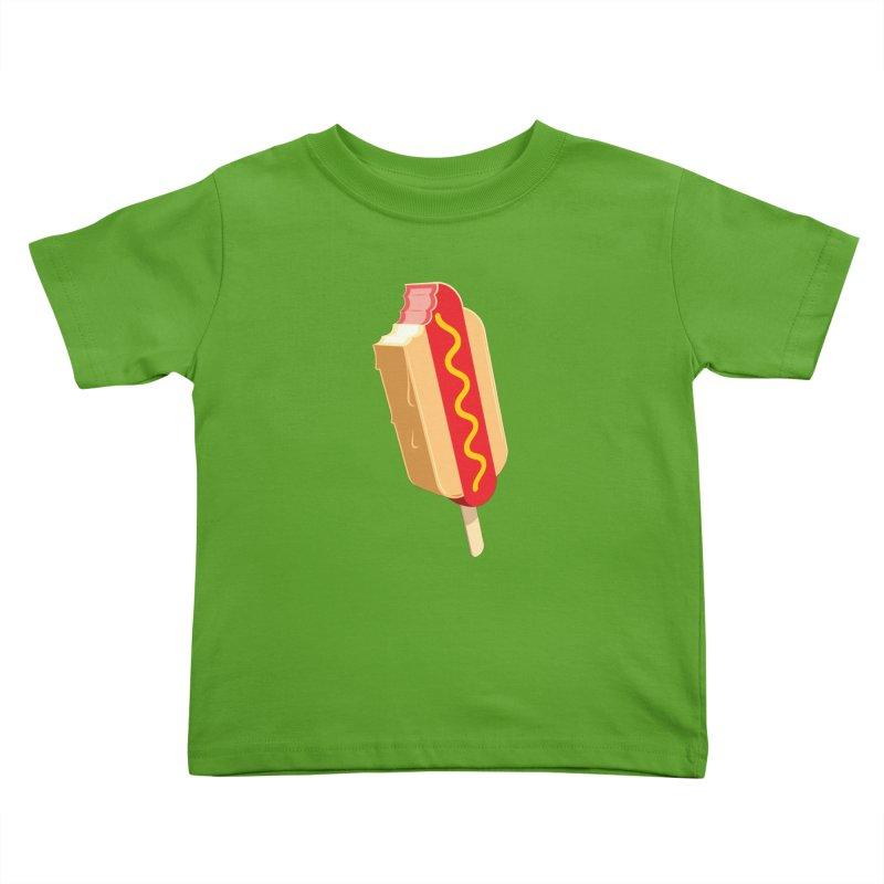 Cold Dog Kids Toddler T-Shirt by Glennz
