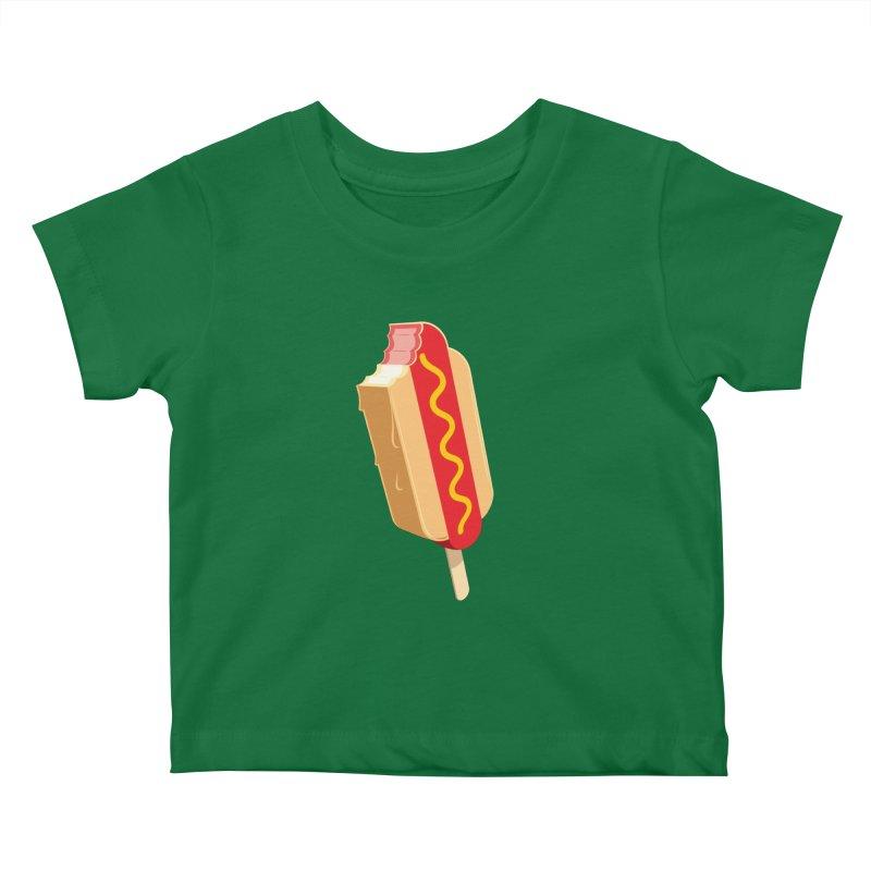 Cold Dog Kids Baby T-Shirt by Glennz