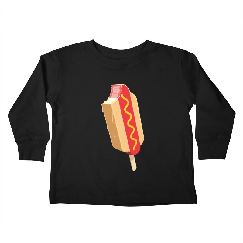 Cold Dog Kids Toddler Longsleeve T-Shirt by Glennz