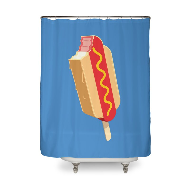 Cold Dog Home Shower Curtain by Glennz