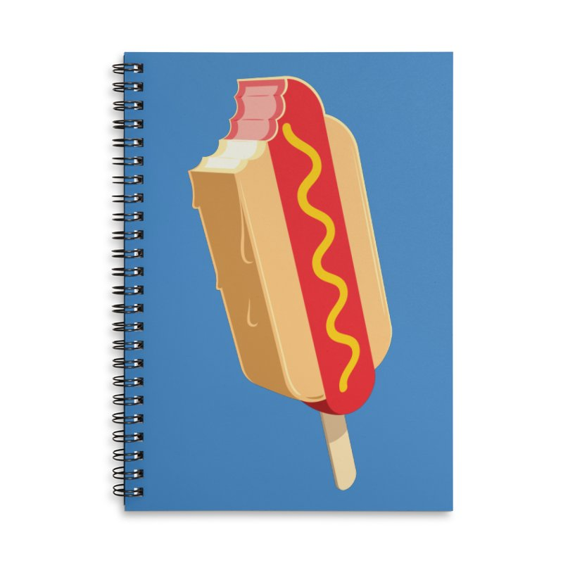 Cold Dog Accessories Notebook by Glennz