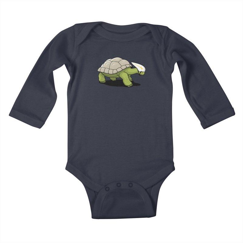 Faster Kids Baby Longsleeve Bodysuit by Glennz