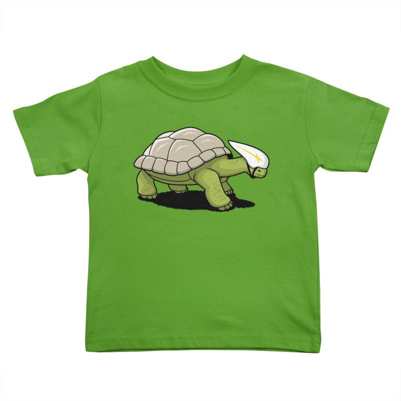 Faster Kids Toddler T-Shirt by Glennz