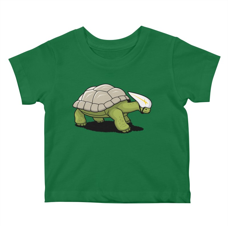 Faster Kids Baby T-Shirt by Glennz