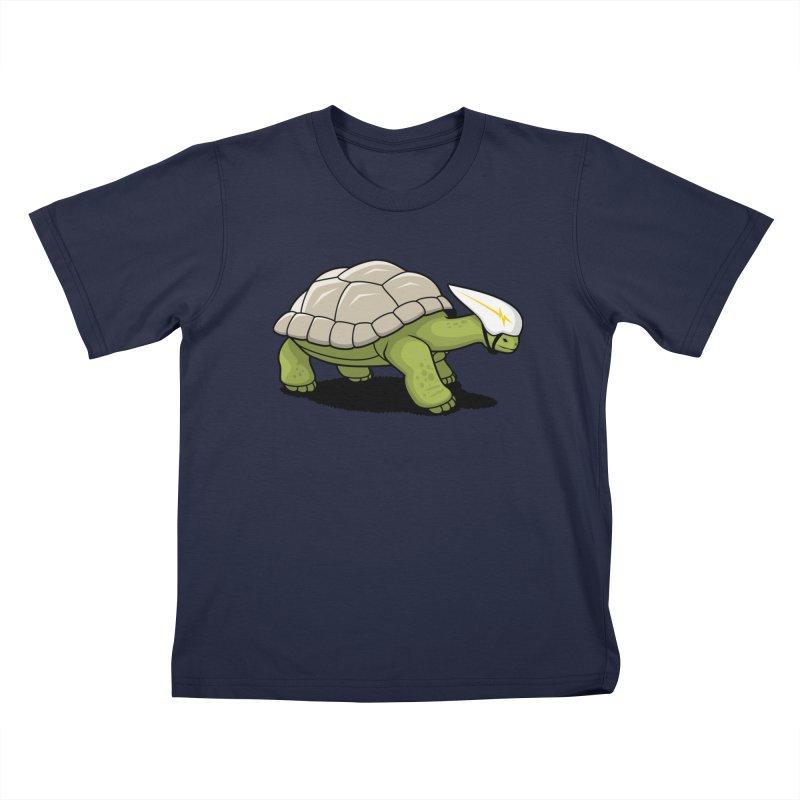 Faster Kids T-Shirt by Glennz