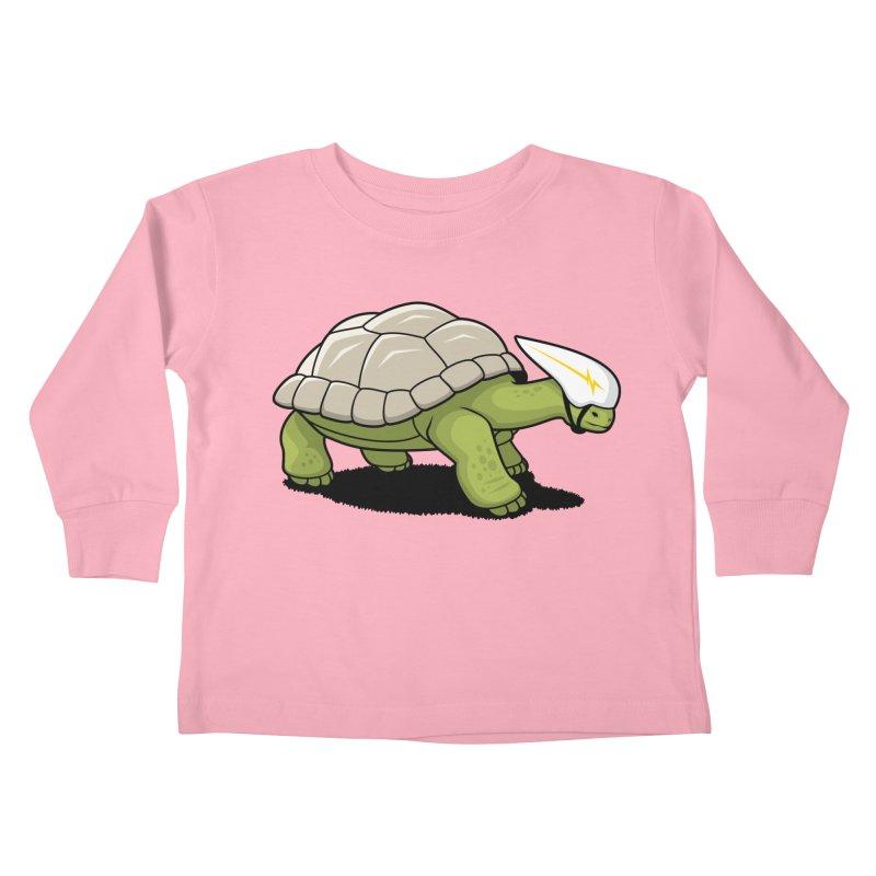 Faster Kids Toddler Longsleeve T-Shirt by Glennz