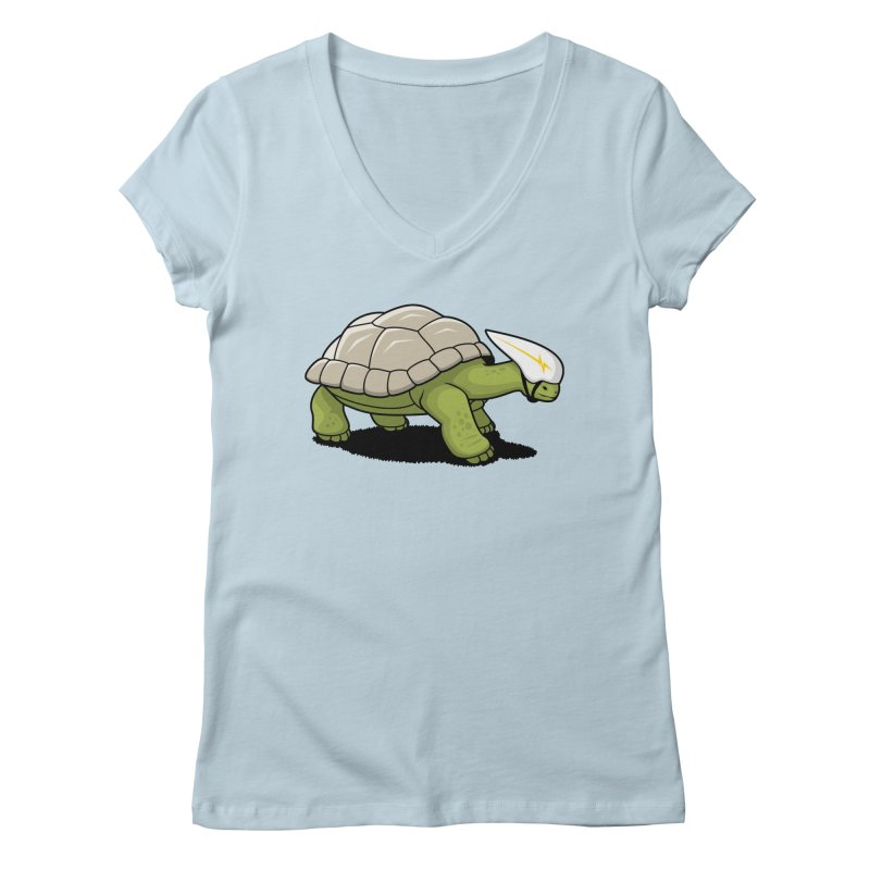 Faster Women's V-Neck by Glennz